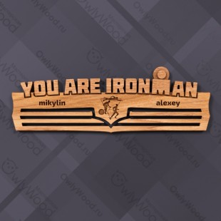 You are IRONMAN
